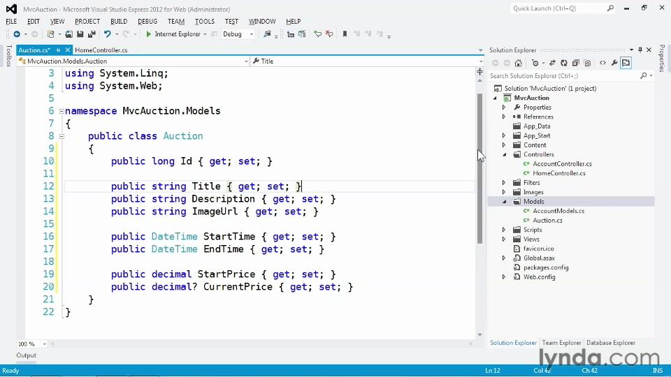 آموزش ASP.NET MVC بخش نهم